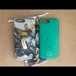 Bundle of loopy iPhone 8 Plus cases